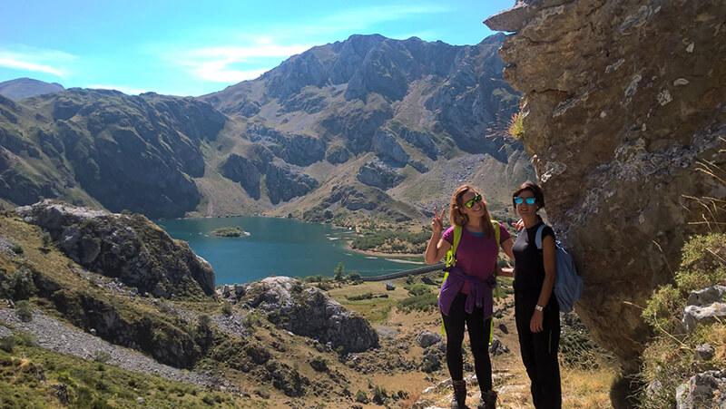 escursion al lago