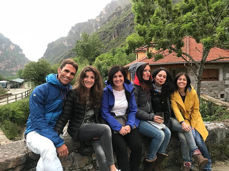 excursion por la montaña